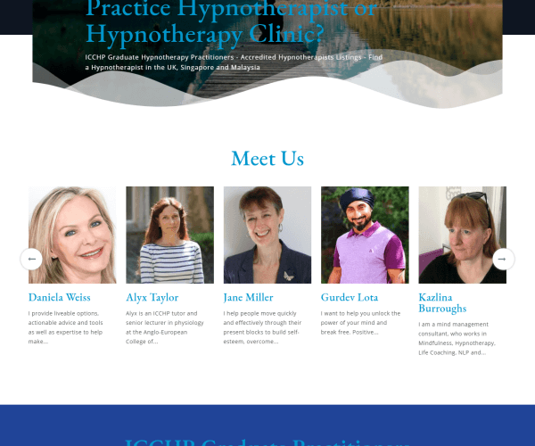 Online Hypnotherapists Portal